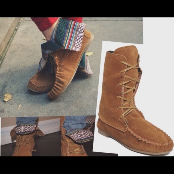 special for shoe classic styles new design Steve Madden Shoes | Moccasin Minnetonka Boots Hold | Poshmark