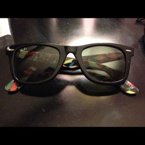 Limited edition Ray-Ban wayfarers
