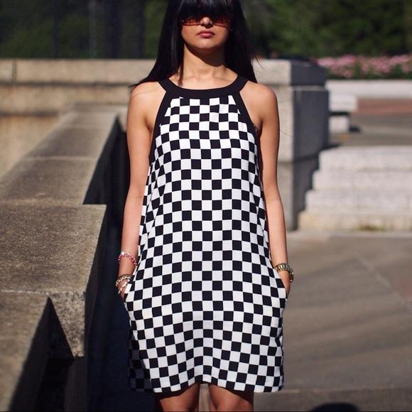 49% off Zara Dresses &amp Skirts - Zara Basics black and white ...