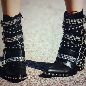 ISO Jeffrey Campbell Draco Boots