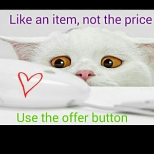 Other - Use offer button PLEASE 😀