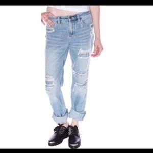 Ksubi Denim - Ksubi distressed ripped boyfriend Jeans