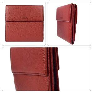 Celine leather wallet on Poshmark