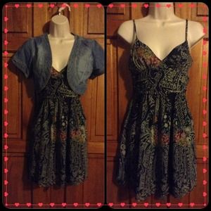 Staring at stars dress sz2 cute summer dress