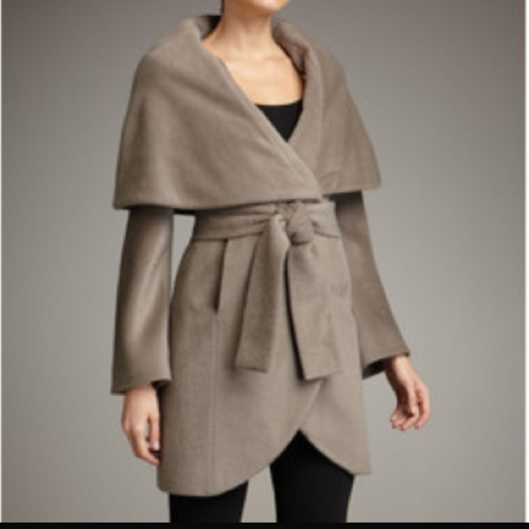 Tahari Jackets & Coats - SOLD | Tahari Marla Shawl Collar wrap