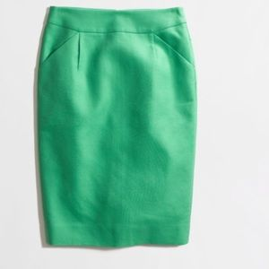 JCREW Satin Pencil Skirt