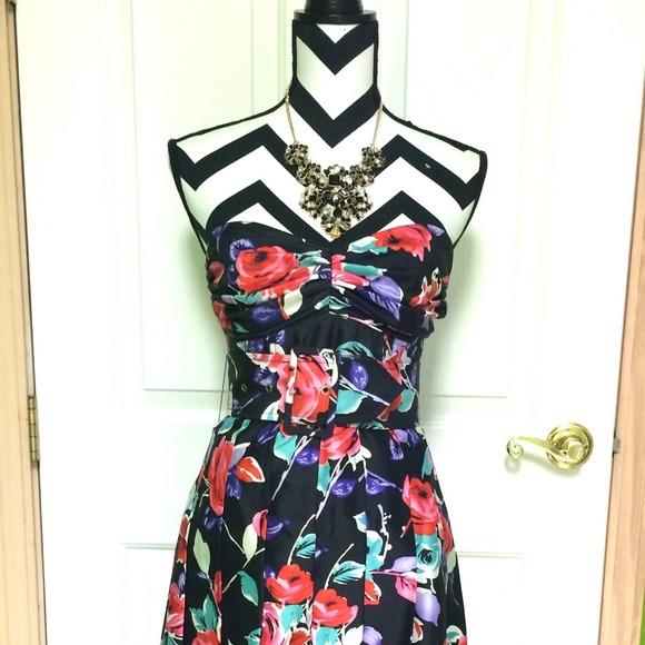 Floral Dress hp 2 Express