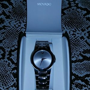 ⌚️MOVADO: MOVADO MEZA WATCH, Stainless Steel
