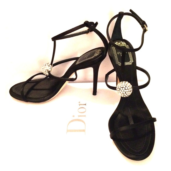 9ff147de7c3 PRICE NEGOTIABLE Dior Strappy Heels