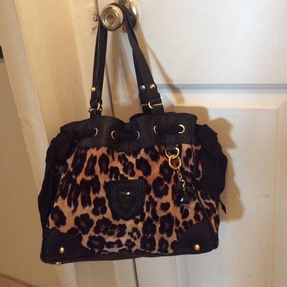 Juicy Couture Handbags - Juicy Couture Leopard Print Handbag a672b0d8482c