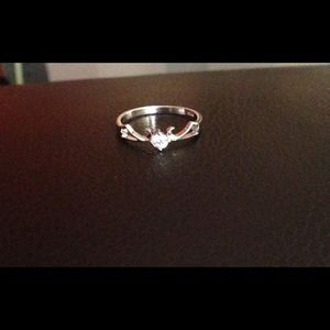 Sterling silver ring stamped 925