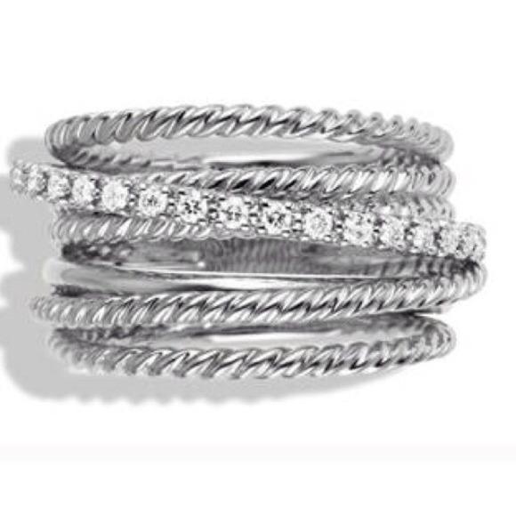0c81cb20f83358 David Yurman Jewelry | Flash Sale Crossover Ring | Poshmark