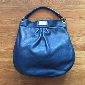 Marc by Marc Jacobs navy Hillier hobo