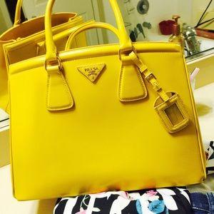 19% off Prada Handbags - Prada Saffiano Shopping Tote \u2049  \u2049?SOLD ...