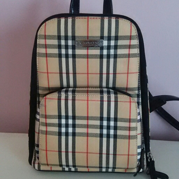 Burberry Handbags - Small Burberry Backpack 289fa18a18de8