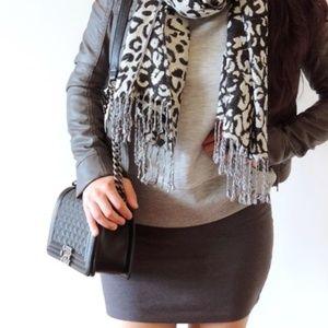 Dresses & Skirts - Gray Bodycon mini skirt ❤️