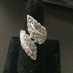 Marcasite Unique design Ring