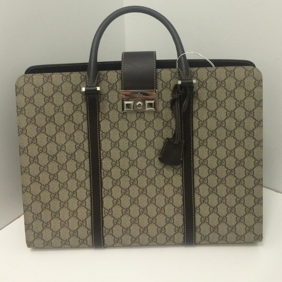 Gucci Bags | Nwot Briefcase Laptop Bag