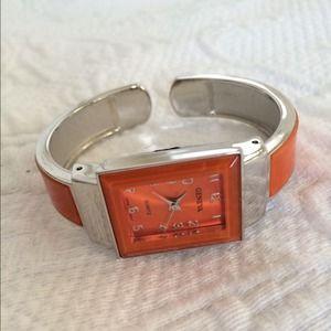 Geneva Jewelry - Geneva Orange Bracelet Watch- ask about .99 ship