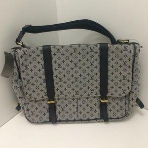 Louis Vuitton Bags Euc Denim Diaper Bag Poshmark