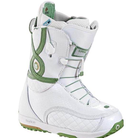 Burton Shoes Size 7 Women S Supreme Snowboard Boots