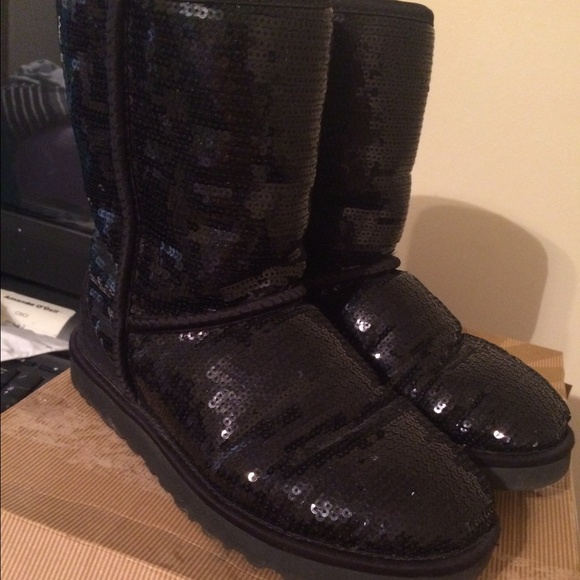 black sequin uggs sale
