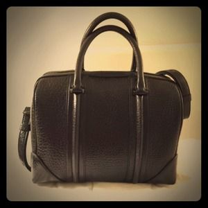 Givenchy Lucrezia Black Leather Print