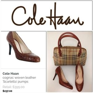 Woven Cole Haan shoes