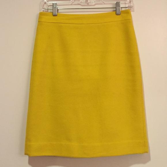 86 j crew dresses skirts j crew mustard wool