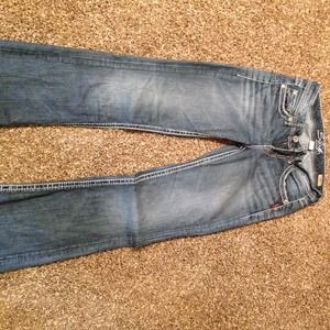 Silver Lola style jeans