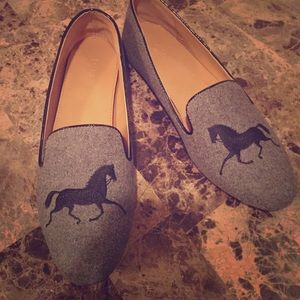 J.Crew gray  loafers (9)