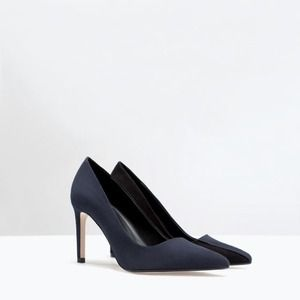 Zara Two Tone Court Shoes