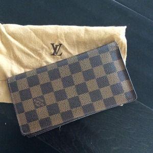 Louis Vuitton Porte Valeurs Damier wallet