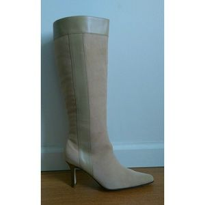 Terry Lewis Boots - Brand new sand-colored high shaft boots