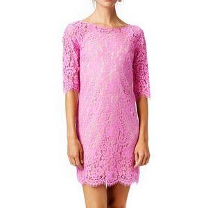 Robert Rodriguez Dresses & Skirts - Pink lace shift dress