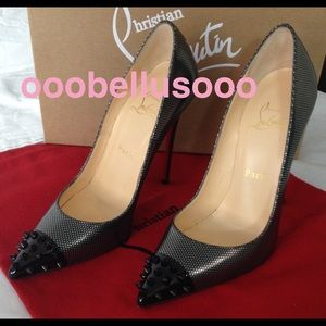 $540 💯Authentic Christian Louboutin 120mm size 37