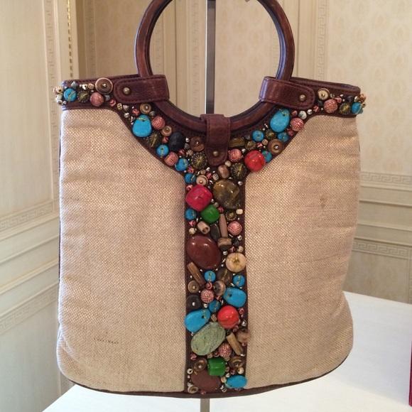 2dd3f0b129e Cole Haan Handbags - Cole Haan G Series Ltd Edition Embellished Purse