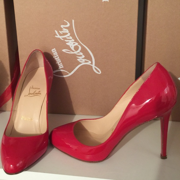 christian louboutin 100mm simple pump