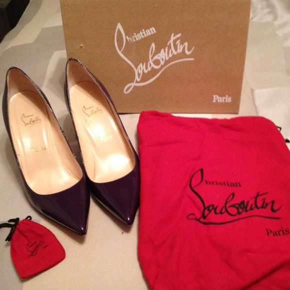 christian louboutin used shoes