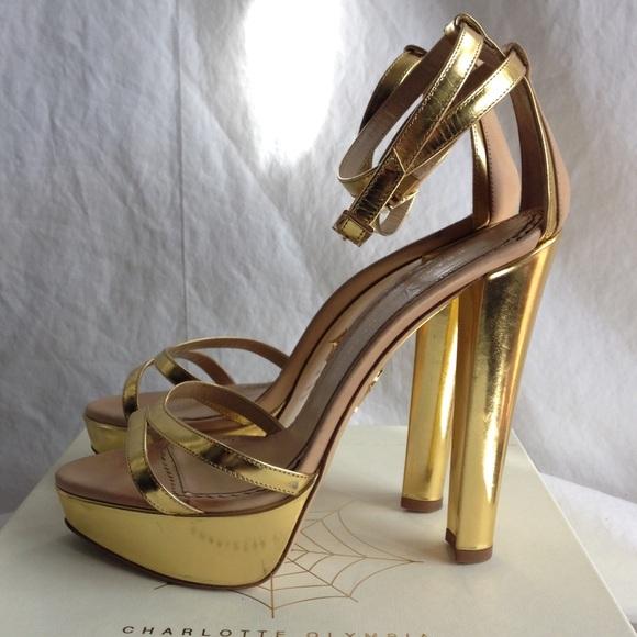 Gold Tokyo Platform Sandals   Poshmark