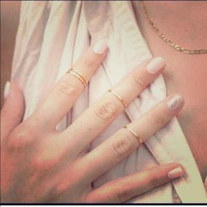HP 4/16 5 Piece Midi Knuckle Ring Set
