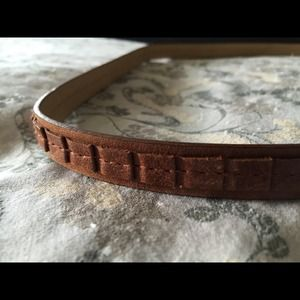 Cynthia Rowley brown belt