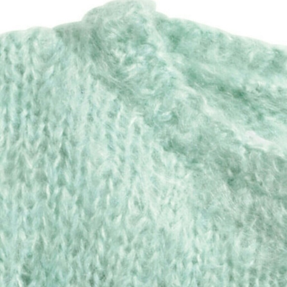 H&m Cropped Mohair Sweater