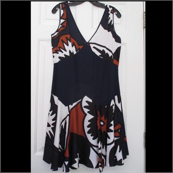 Diane von Furstenberg Dresses & Skirts - Diane von Furstenberg DVF abstract dress 8