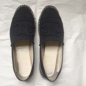 Black Chanel Espadrilles