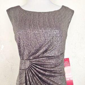 Connected Apparel Dresses & Skirts - Silver Dress