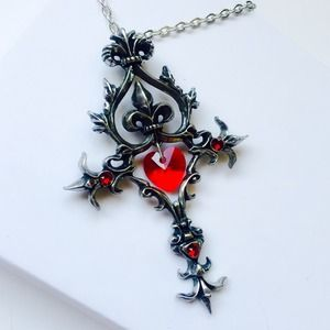 Alchemy Jewelry - Of Renaissance and Passion Cross Pendant
