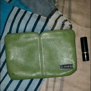 Chloe leather clutch on Poshmark