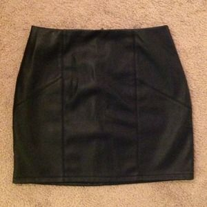 New with tags - ASOS FAUX LEATHER SKIRT