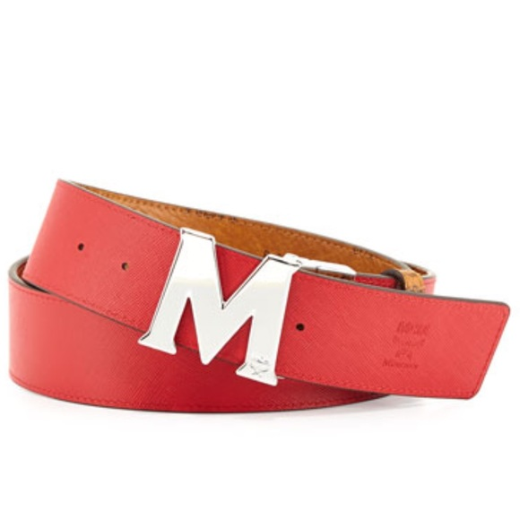 Gucci Belt Serial Number >> 21% off MCM Accessories - Red reversible MCM belt from Stoney's closet on Poshmark